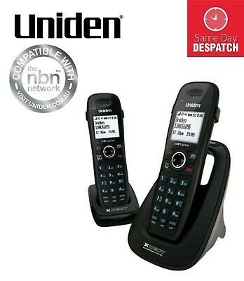 Uniden 8015+1 Xdect Extended Long Range Cordless Phone System -Same Day Despatch
