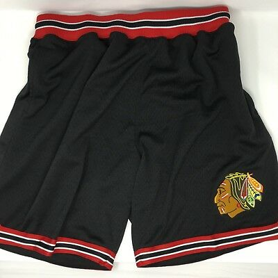 NHL Chicago Blackhawks Mitchell & Ness Vintage Athletic Shorts - NWT - Medium