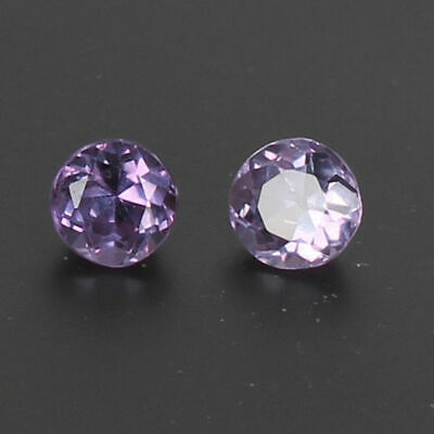 Natural 2.70 Ct Color Change In Sunlight Alexandrite Pair Loose Gems  Certified