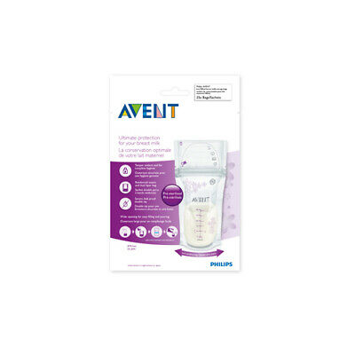 NEW Avent Breast Milk Bags 25 Pack Baby Feeding Accessories