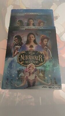 Disney The Nutcracker and the four realms Blu-ray DVD and digital