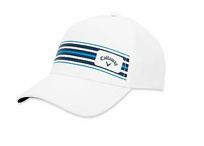 164c8aef1e917 Callaway Stripe Mesh Hat Mens Adjustable Golf Cap 2019 - Choose Color