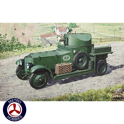 Roden 1/72 WWII British Armoured Car Pattern 1920 Mk.I RO731 Brand New