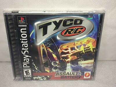 Sony Playstation PS1 TYCO R/C ASSAULT WITH A BATTERY Game Mattel New Sealed