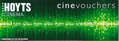 Hoyts cinema cinevouchers 1 adult ticket valid  for mon-thurs only