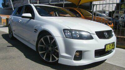 2013 Holden Commodore VE II MY12.5 SS Z-Series White Automatic 6sp A