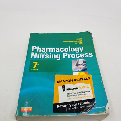 Pharmacology and the Nursing Process, Standalone book 7th Edition