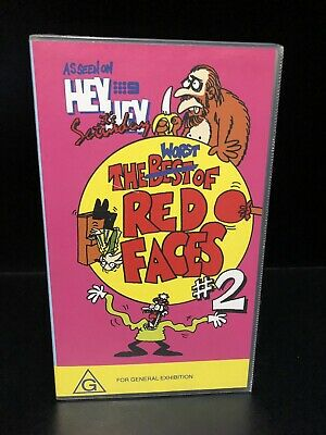 Hey Hey Its Saturday The WORST of Red Faces 2 VHS