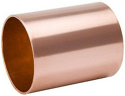 B&K LLC 1-1/2 Inch Wrot Copper Coupling With Stop W610149