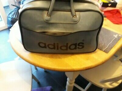 f940d5930fc3 Vintage 1970s Adidas Blue Sports Bag Holdall Peter Black (Northern Soul)