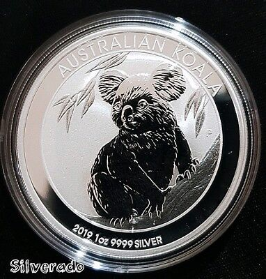 2019 AUSTRALIAN KOALA 1oz SILVER COIN BULLION PERTH MINT POSTAGE WITH TRACKING