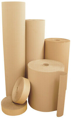 Strong Corrugated Cardboard Paper Rolls - All Widths & Sizes Fast Delivery