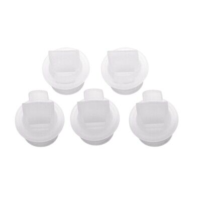 1X(5pcs electric manual breast pump special accessories silicone duckbill vE8S6)