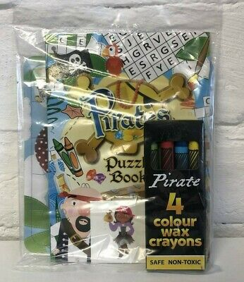 Kids Pirate Theme Party Bag Filler Pack - Birthday Favour Gift Lucky Dip
