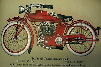 Indian Motorcycles Advertisement Vintage Retro style Metal Sign, garage, shed