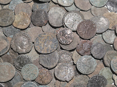 30 TOP Quality Uncleaned Roman coins