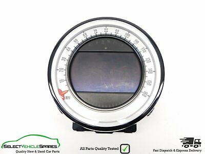 Bmw Mini One/cooper/s/d R56 Lci Speedo + Sat Nav Display Dash Screen 2011-2013