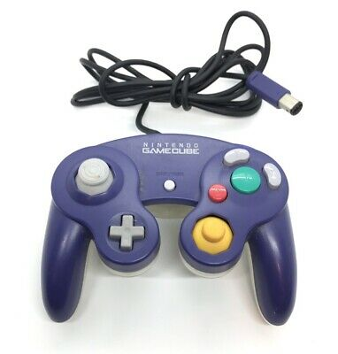 Official Nintendo GameCube Controller - Original Indigo Purple / Clear - DOL-003