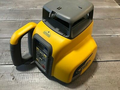 Used Spectra Precision GL412N Single Grade Rotary Laser - Great Shape