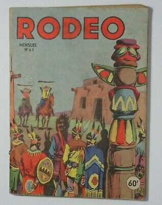 Rodeo N°61 Lug 1er Septembre 1956 bon état. Voir photos