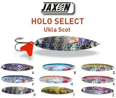 Fresh /& saltwater .✅ Pike Trout etc Perch 3.2g 5 x Fishing Spoons // Lures