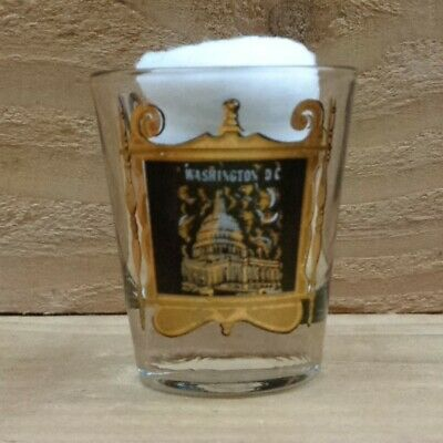 "LINCOLN MEMORIAL - WASHINGTON, D.C. ""Shot Glass"" orig."