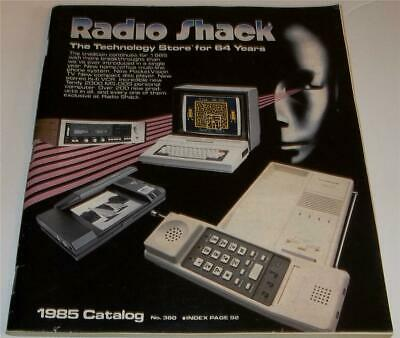 VINTAGE 1985 RADIO Shack Catalog Stereo Computers RC Vehicles