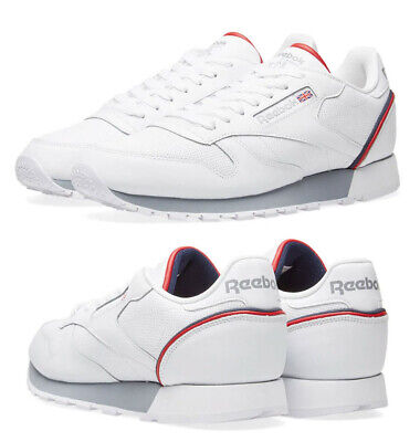 ca85d741231 NEW REEBOK WORKOUT Plus Classic Leather Mens sneaker white gum all ...