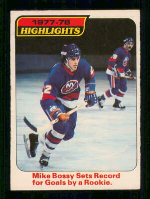 1978-79  Opc O Pee Chee  # 1  Mike Bossy  Hl    13235