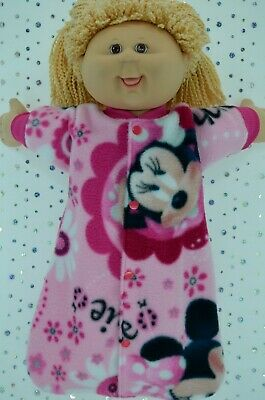 "Play n Wear Dolls Clothes To Fit 16"" Cabbage Patch POLAR FLEECE SLEEPING BAG"