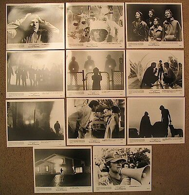 E.T. ET The Extra-Terrestrial 11 Glossy B/W Studio Press Kit Stills Photos 1982