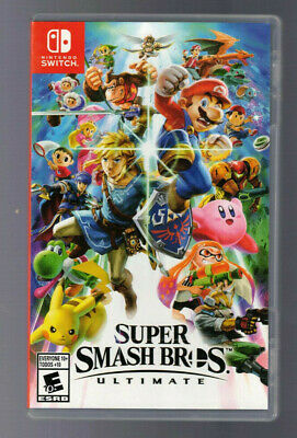 Super Smash Bros. Ultimate - Nintendo Switch BRAND NEW FACTORY SEALED