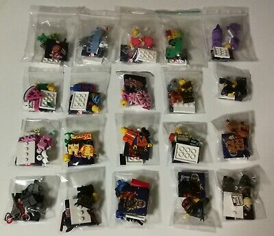 LEGO Minifigures 71023 Serie Lego Movie 2 completa (20 minifigures nuove)