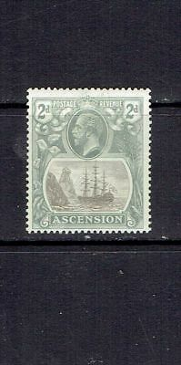 ASCENSION ISLAND - 1924 - 2p SEAL OF THE COLONY - SCOTT 13 - MH