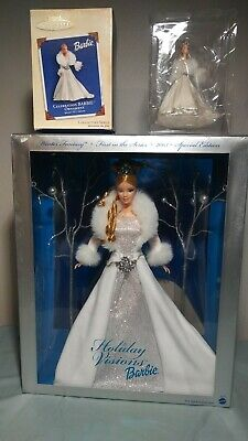 Holiday Visions Winter Fantasy 2003 Barbie Doll with ornament