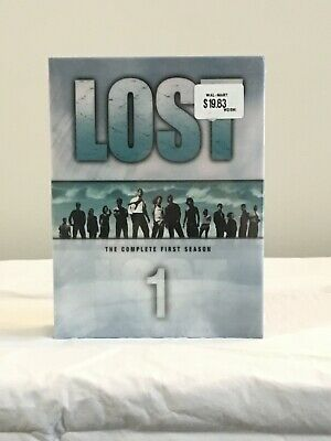 Lost - The Complete First Season (Blu-ray Disc, 2009, Canadian)