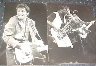 8x10 GLOSSY Photo Picture Image #5 Bruce Springsteen /& Clarence Clemons 8 x 10