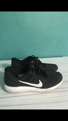 official photos 3f1cb 52515 Nike Lunarglide 9 Black Dark Grey White 904715-001 Men s Stability Running  Shoes