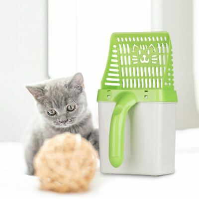 Multifunctional Cat Litter Scoop Waste Sifter Pet Sand Shovel Cleaning Tool