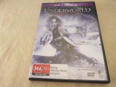 Underworld - Blood Wars (DVD, 2017) Region 2 & 4 & 5