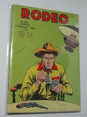 Rodeo N°195 Lug 05 Novembre 1967. Voir photos