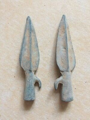 Free shipping 2 pcs bronze arrowhead coin hot-sale vintage China currency curio