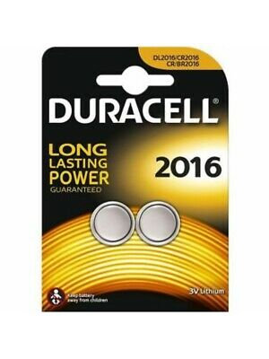 NEW Duracell CR2016 3V Lithium Coin Battery 2016 DL2016 BR2016 - Longest Expiry