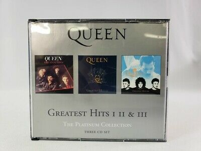 The Platinum Collection: Greatest Hits I II & III by Queen 3 Disc Set
