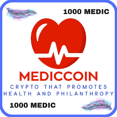 1000 Medic Coin (MEDIC) CRYPTO MINING-CONTRACT (1000 MEDIC)
