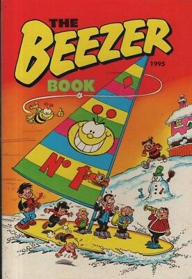 """Annuals - """"the Beezer Book 1995"""" - D.c.thomson - A Lovely, Unmarked Copy"""