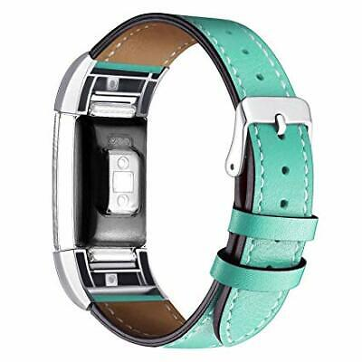 Fitbit Charge 2 Replacement Leather Adjustable Wrist Band Strap Watch
