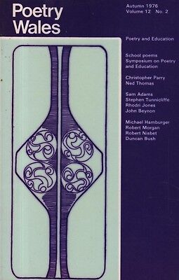 "THE POETRY AND EDUCATION ISSUE OF ""POETRY WALES"" (Autumn 1976)"