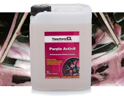 Purple Iron Fall Out ALLOY WHEEL CLEANER + FREE SPRAY BOTTLE TechniQ Activ8