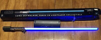 Star Wars Luke Skywalker 2007 Force FX Blue Lightsaber Master Replicas